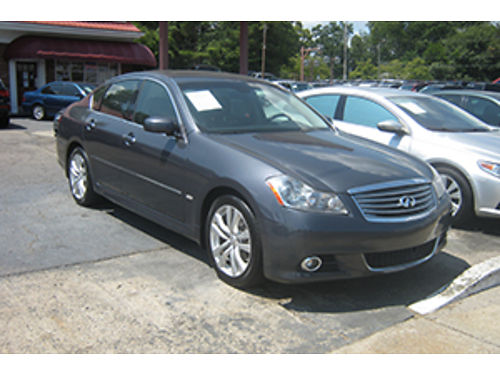 2010 INFINITI M35 4Dr Auto Leather Sunroof Luxury Package 8200 1-800-805-7984