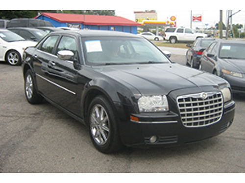 2008 CHRYSLER 300 Touring 4Dr Auto Black Leather 7400 Call 1-800-805-7984