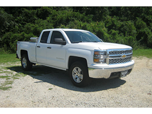 2014 CHEVY 1500 LT 4x4 4Dr Ext Cab 53 V8 Bluetooth All Power Toolbox Alloys Exceptionally Cl