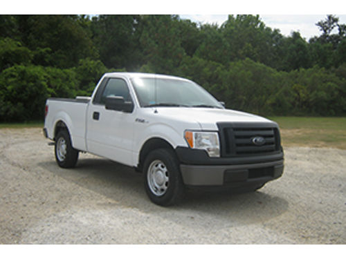 2012 FORD F150 XL 2Dr 37 V6 Auto AC 2 Nice Tool Boxes One Owner Very Well Maintained Only 1