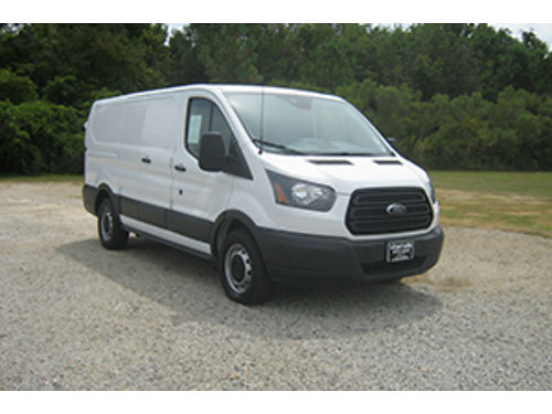 2016 FORD TRANSIT T150 Cargo Van 37 V6 All Power Aux Input Bulkhead Interior Shelves Ready to