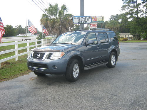 2008 NISSAN PATHFINDER 3Rd Row 4Dr Auto Loaded 8390 888-667-8504