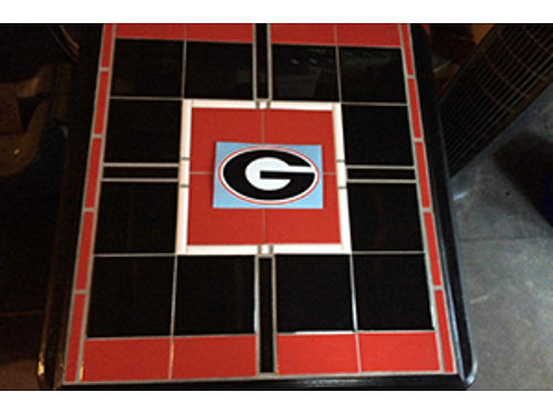 End Table Tile Top Georgia Bull Dogs Any Team Available 195 706-832-6182
