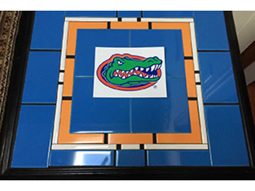 End Table Tile Top Florida Gators Anyt Team Available 195 706-832-6182
