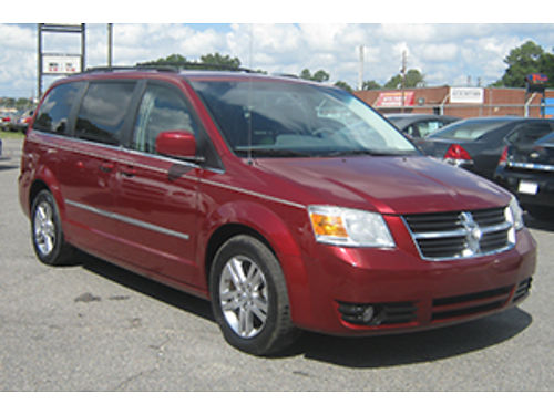 2010 DODGE CARAVAN 4Dr Auto Maroon Leather 11995 1-888-640-5901