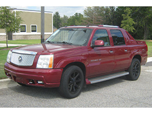 2005 CADILLAC ESCALADE Ext 4Dr Auto Red Leather Wood Grain 11500 1-800-805-7984