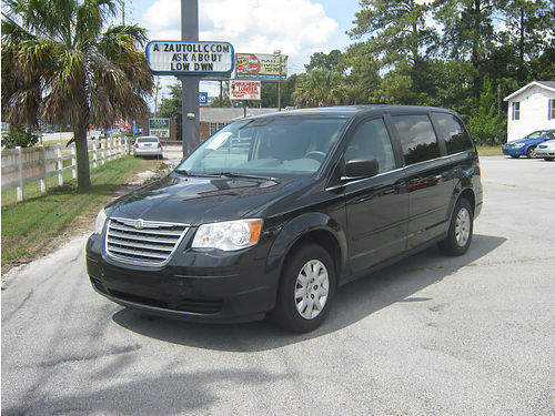 2009 CHRYSLER TOWN  COUNTRY 2 Sliding Doors Auto Black 3rd Row 5995 888-667-8504