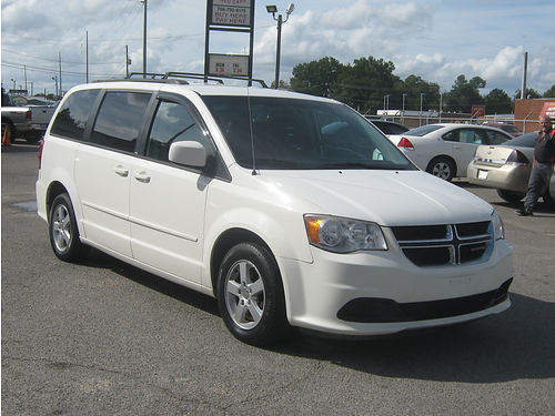 2013 DODGE CARAVAN 4Dr Auto White 3rd Row 11995 888-640-5901