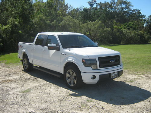 2013 FORD F150 FX2 Sport Crew Cab 50 V8 All Power Leather Sony CD Back-up Camera Lots of Opt
