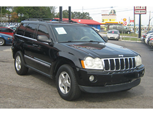 2006 JEEP CHEROKEE Limited Edition 4Dr Auto Black Leather 7200 800-805-7984