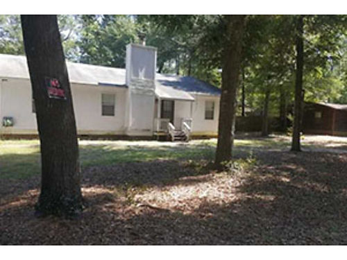 Rent to own 3Br on 1Acre Jackson SC 1900 sqft Fireplace Fenced Backyard Storage Shed 64886