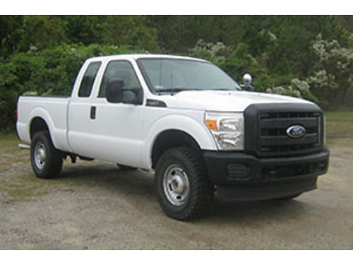 2011 FORD F250 XL 4x4 4Dr Ext Cab 62 V8 Tow Package Extremely Well Maintained Built to Work On