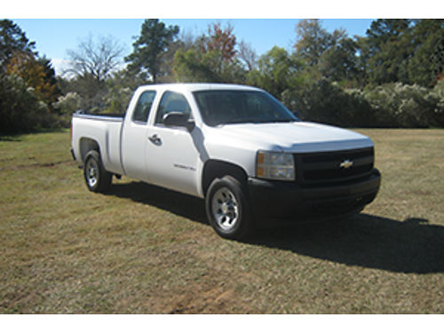 2008 CHEVY SILVERADO 1500 4Dr Ext Cab 53 V8 All Power One Owner Extra Clean Only 12500 888-2
