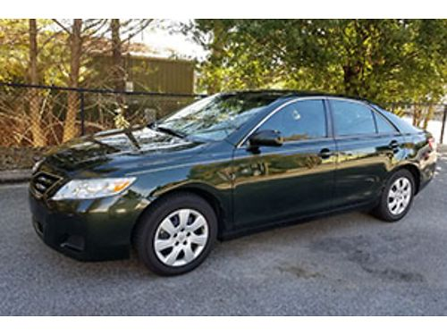 2011 TOYOTA CAMRY v6 1 owner 12900 actual miles spruce green new battery and tires perfect pai