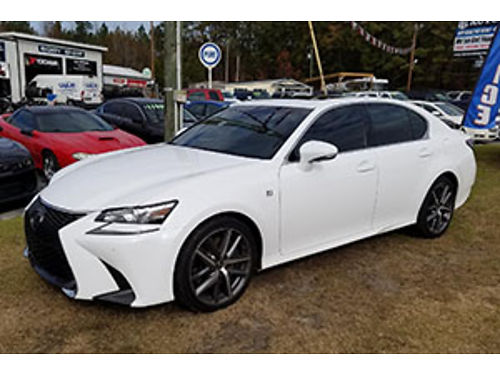 2018 LEXUS GS350 1 owner ONLY 5K miles Loaded Leather all the extras 49