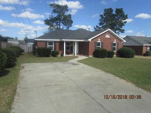 Augusta 4br 2ba Ranch exterior brick vinyl home brick front porch great for family gathering pr