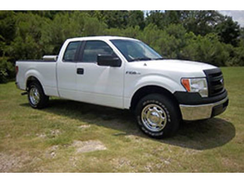 2014 FORD F150 XLT 4x4 4Dr Ext Cab 50 V8 All Power Bluetooth Aux Input Power Seats Spray In