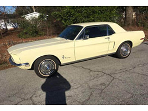 1968 FORD MUSTANG california car 289 four barrel factory AC new pwd brakes master cylinder and bo
