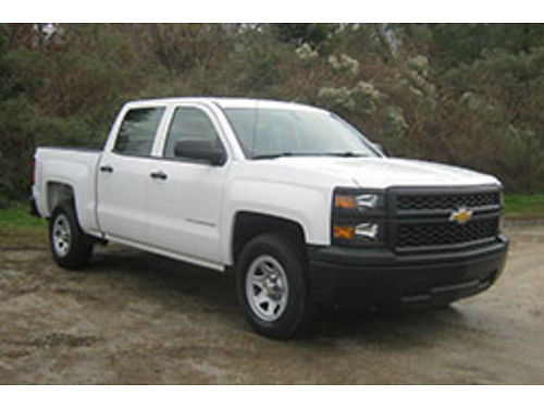 2014 CHEVY SILVERADO 1500 4Dr Crew Cab 43 V6 56K Miles All Power One Owner Like New wout New