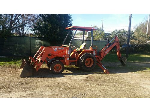 BACKHOE Kubota L35 bt900 65 front bucket 4wd 12 and 15 backhoe buckets bob cat soil condition