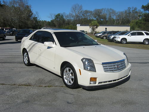 2007 CADILLAC CTS 4Dr Auto Pearl 5995 888-667-8504
