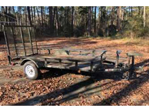 TRAILER 5x10 utility with ramp treated wood flooring winch 800 for color phot