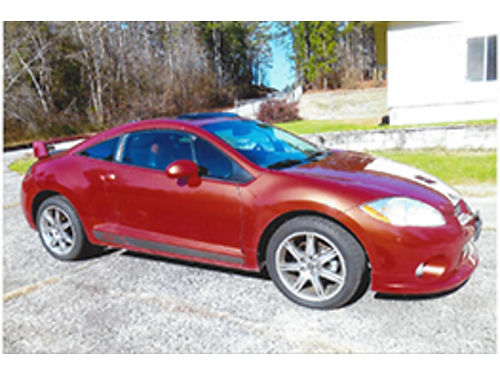 2008 MITSUBISHI ECLIPSE GT v6 sunroof spoiler leather interior w heated seats xc 90k miles 60