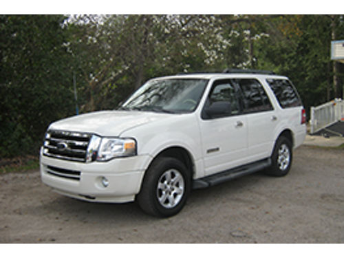 2008 FORD EXPEDITION XLT 4Dr Auto Pearl 8995 706-955-8546