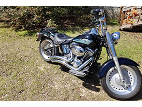 2010 HARLEY FATBOY 13k miles garage kept new tires battery and brakes vance and hines street swe