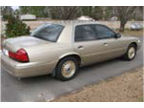 1999 MERCURY GRAND MARQUIS Limited one owner non-smoker garage kept serviced by dealer all main