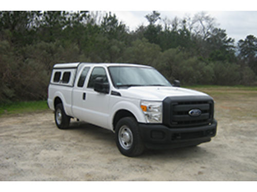 2012 FORD F250 XL 4Dr Ext Cab 62 V8 115K Auto AC Rear Locking Differentials Tow Package Elect
