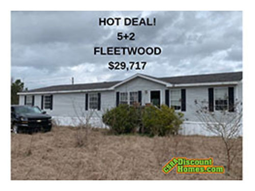Rent to Own Large 32 Fleetwood 28x80 Den wFireplace Glamour Bath Sun Roof 35824 803649-9699