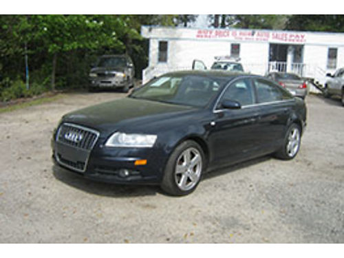 2008 AUDI A6 4Dr Auto Leather Sunroof 9995 706-955-8546