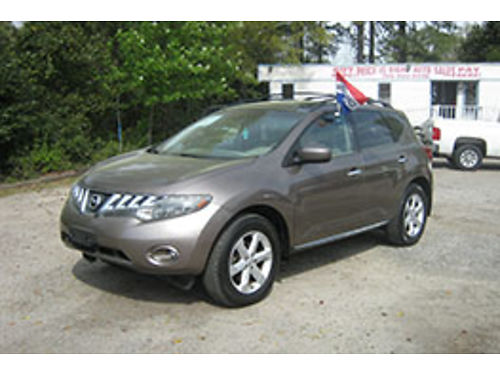 2009 NISSAN MURANO 4Dr Auto Leather 9995 706-955-8546