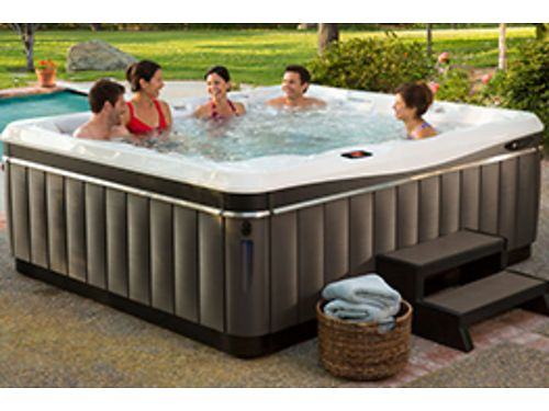 PEACHTREE POOLS & SPAS WE CARRY FIBERGLASS     | Sports and