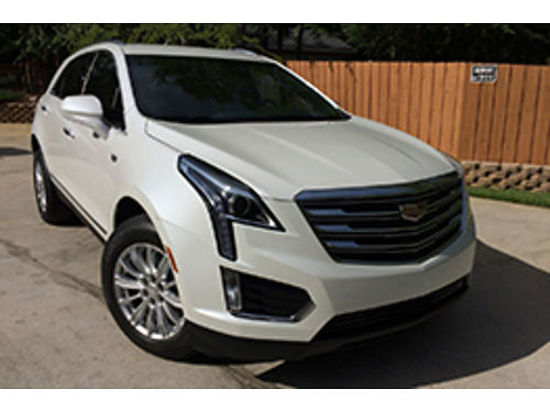 2019 CADILLAC XT5 white fully loaded beige leather int 50000mile5yr factory