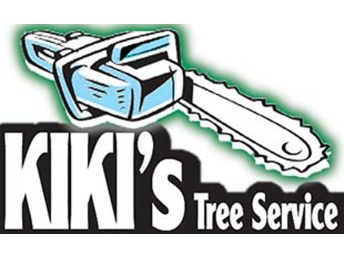 KIKIS T REE S ERVICE Bob-cat work Sprinkler Full Installation And Repair Free Stump Grinding With A