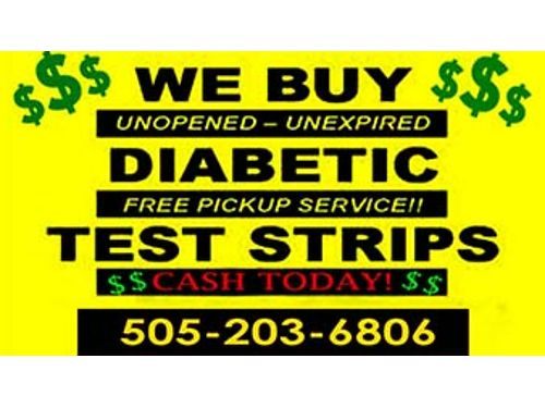 CASH TODAY   FOR DIABETIC TEST STRIPS Highest Prices Paid  Up To 60 A Box  FREE Same Day