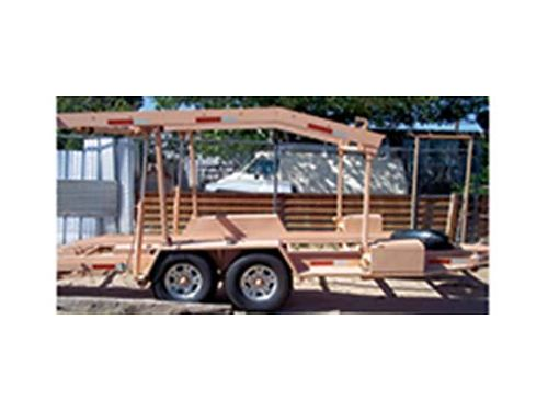 CAR haulerboat trailer Hydrolic New Condition 6500 negotible Call for more info 505-480-3613