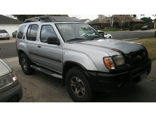 2000 NISSAN Xterra 4-door automatic 220k miles loaded stereo 3200 obo 530-844-2611 530-301-