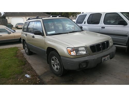 2002 SUBARU Forester 253k miles 4-door air automatic fully loaded good tires clean well depe