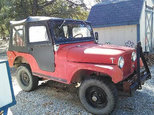 1964 WILLYS all original excellent condition runs great good tires tow bar cover with extra m