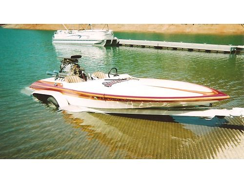 1972 SANGER bubble deck big block Chevy 671 blower two 1150 Holleys can split boat and motor 1