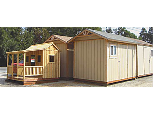 STORAGE BUILDINGS - Many styles and sizes 650 to 2200 base price custom options  delivery avail