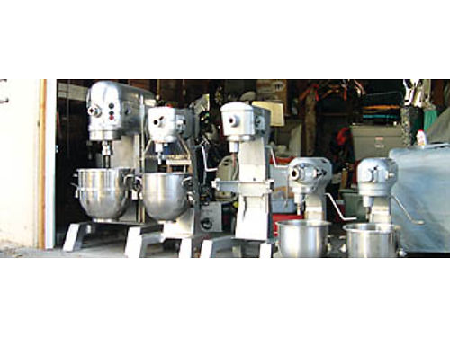 HOBART MIXERS  SLICERS - RESTAURANT  STORE Equipment - like new w warranty inc slicers from 42