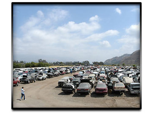 WE BUY JUNK CARS  SCRAP METAL - LICENSED DISMANTLER  RECYCLER Cash for ANY CA