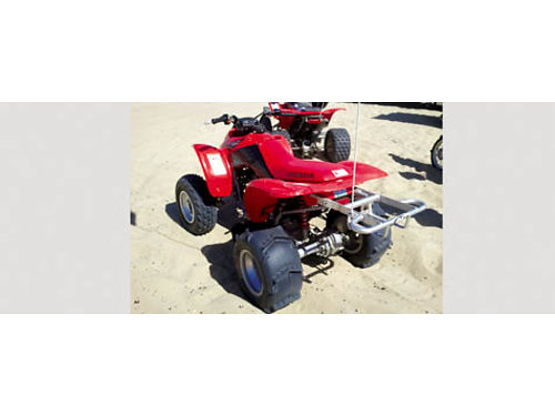 2005 HONDA TRX 250 EX - Auto good for beginners runs great helmet  cust waterproof cover include