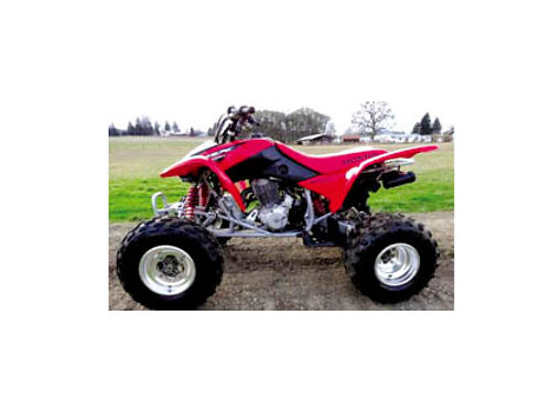 2005 HONDA 400 QUAD - Lots of power xlnt condition incl cust waterproof cover aluminum riding gua