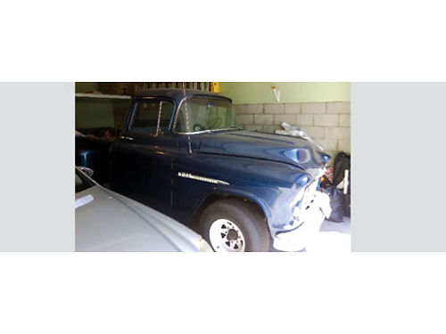 1955 CHEVROLET STEPSIDE fully restored 335 Chevy V8 Eng 10K miles 2nd owner clean title no acc
