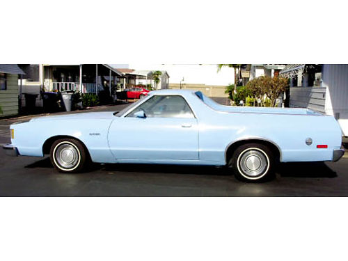 1979 FORD RANCHERO GT Auto V8 one owner All original 155K miles excellent condition inside and